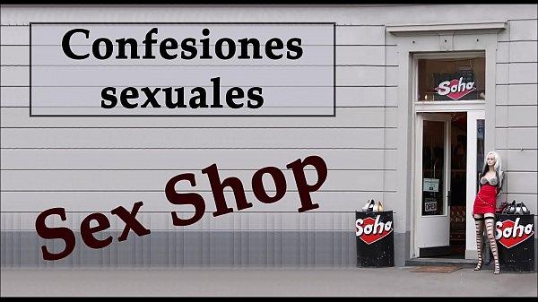 Camarera y dueño de un Sex shop. AUDIO ESPAÑOL. Confesión sexual.